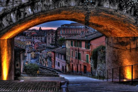 The Beautiful City Of Perugia, Italy